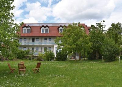 Landhotel Hauer Ansicht von der Gartenseite